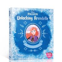 【全店300减100】冰雪奇缘2 打开阿伦黛尔 英文原版 Disney Frozen Unlocking Arendel