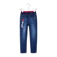 【特惠款】1水孩儿童装男小童春季时尚单层牛仔长裤ALCKA501