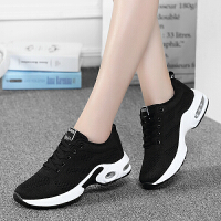 运动鞋女鞋秋冬季新款跑步鞋女士学生百搭气垫休闲平底保暖旅游鞋