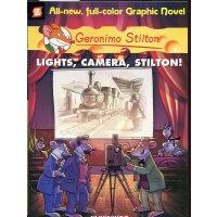 Geronimo Stilton (Graphic Novels) #16: Lights: Camera: Stil