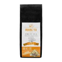 JUJIANG巨匠 透明三角立体茶包 水果天堂 精选果粒茶 花茶4gX30包