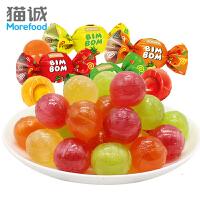 如胜 乒乓夹心硬质糖果1kg 果汁糖夹心水果糖休闲零食