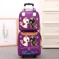 3件7折套装手提拉杆旅行包拉杆包轻便出差短途旅游大容量行李包子母包