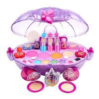 迪士尼儿童无毒套装化妆品女孩公主彩妆盒玩具口红过家家女童礼物