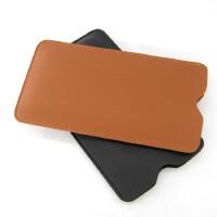 6.1寸华为P30/6.47寸P30 Pro手机直插式保护皮套壳袋内胆包 6.47寸P30 Pro棕色