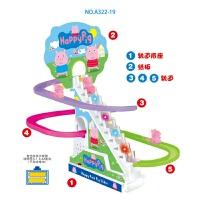 电动爬楼梯小孩轨道滑梯创意新奇小玩意儿童玩具批发地摊货源抖音