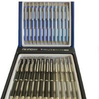 爱好 2490 缪斯按动中性笔 金属外壳 0.5mm签字笔 商务笔 (颜色随机)