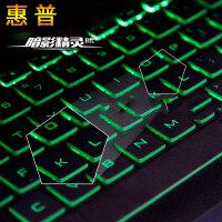 【惠普专用】hp惠普暗影精灵4代键盘膜光影2暗夜3代pro笔记本17电脑15.6寸保护膜plu