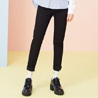 【满1000减750】美特斯邦威休闲裤女新款时尚韩版学生紧身小脚裤