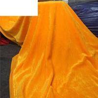 艾欧唯 黄布佛堂装饰绒布桌布垫佛台桌围茶叶礼盒金黄色金丝绒布佛教布料