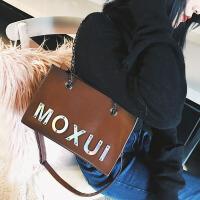 包包女新款秋冬韩版休闲大包手提包单肩包时尚链条斜挎包大包