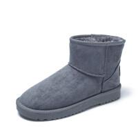 雪地靴女冬季短筒韩版百搭学生厚底棉鞋女加绒加厚短靴子