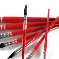 澳洲NEEF阿尔瓦罗松鼠毛水彩画笔 刀锋 拉线平头画笔板刷