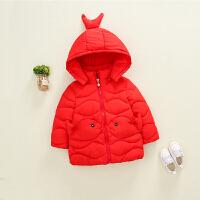 宝宝棉衣女0-1岁冬女童冬装婴儿外套2秋冬3小童加厚冬季棉袄