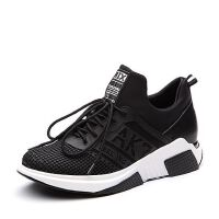 Teenmix/天美意2018春专柜同款布厚底运动风女休闲鞋女鞋CCW23AM8