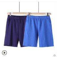 2件装男士家居裤纯棉睡裤薄款五分宽松短裤休闲沙滩裤运动