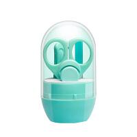 新生婴儿指甲剪防夹肉神器幼儿日儿护理儿童小孩指甲刀宝宝指剪刀 组合装