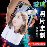 华为荣耀6x手机壳玻璃定制荣耀5x保护套照片情侣畅玩6x女款5xBLN-AL10硅胶honor 5x