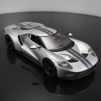 美驰图1:18福特GT汽车模型仿真合金跑车模型原厂金属车模型摆件
