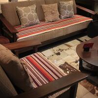 木儿家居 彩条时尚沙发垫 沙发巾 多尺码可选