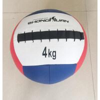 私教健身墙球无弹力药球 重力球体能训练实心球不稳定平衡训练球