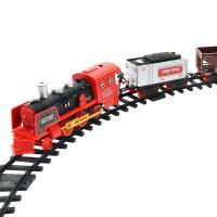 托马斯小火车电动冒烟复古遥控轨道仿真可充电蒸汽火车儿童玩具 官方标配