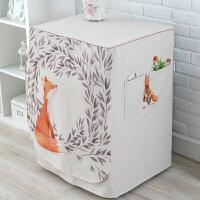 全自动洗衣机罩海尔lg小天鹅滚筒洗衣机套子通用 宽60*厚55-65*高83cm