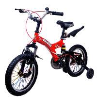 【当当自营】儿童自行车男女表演车14寸16寸18寸学生车 山地车学生车好孩子必备品 小酷熊16寸红色