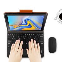 三星Galaxy Tab A蓝牙键盘皮套10.5英寸SM-T590/T595C/T597 棕色【三星Tab A 10.