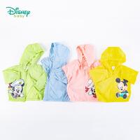 【3件3折到手价:64.5】迪士尼Disney童装 儿童防晒衣男女童卡通印花皮肤衣2020夏季新品户外防晒服轻薄透气