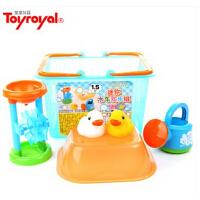 Toyroyal 日本 皇室玩具 TR5148 迷你水车欢乐组 水壶 戏水 软胶