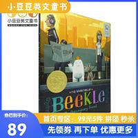 英文绘本 The Adventures of Beekle: The Unimaginary Fri