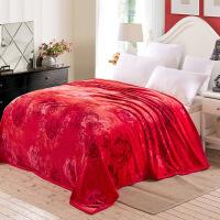 法兰绒床单单件1.8珊瑚绒加厚款短毛绒毛毯子加绒冬季1.5米2.0m床/ 230x250cm 3.8斤