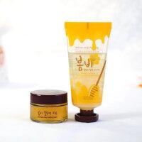 春雨(Papa Recipe)蜂蜜撕拉面膜+营养面霜套装去黑头收毛孔包邮