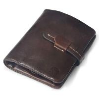 男士女士多功能钱包 中短款 钥匙包钱包 复古