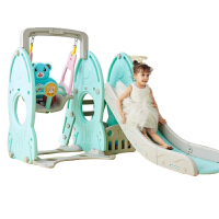 20180524023038817儿童室内滑梯家用多功能滑滑梯宝宝组合滑梯秋千塑料玩具加厚