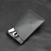 Aigo爱国者充电宝保护套移动电源收纳袋20000毫安整理保护袋 包 黑色 双层款