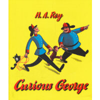 Curious George 好奇猴乔治(1973经典版) 9780395150238