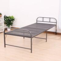 单人床加固钢丝床临时加床陪护床午休床简易床免安装折叠床