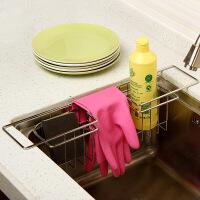 【满减】欧润哲 不锈钢多功能水槽架沥水架 厨房沥水篮收纳篮整理架