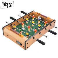 征伐 桌上足球 儿童6杆木质玩具立体式桌游台式足球机体育休闲亲子游戏迷你健身球桌游戏