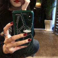 新款苹果X手机壳iPhone6splus个性创意时尚7p网红8明星女 iphone X 绿色