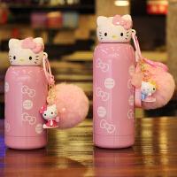 韩国创意迷你不锈钢保温杯小学生女可爱卡通儿童水杯便携防漏水壶