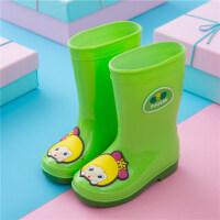猪猪侠高筒儿童雨鞋套男童女童宝宝雨靴卡通可爱小孩防滑水鞋大童 jt6