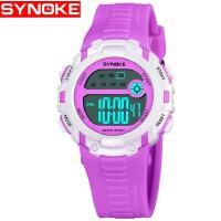时诺刻 儿童电子手表 时尚儿童电子表生活防水夜光多功能男女款 电子表