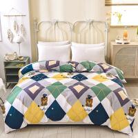 伊迪梦家纺 全棉单品被套被罩简约时尚床上用品 全活性高支高密舒适纯棉面料 单双人大小床型QX501