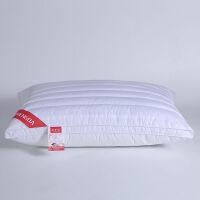 枕头枕芯荞麦双面两用枕羽丝绒颈枕芯一对家用全棉助睡眠