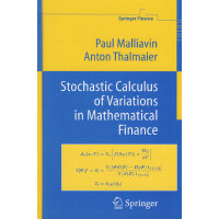 Stochastic Calculus of Variations in Mathematical Financ数学财