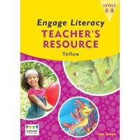 英文原版 Engage Literacy Yellow: Levels 6-8 Teacher's Resource