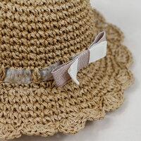 婴儿帽子儿童帽女草帽沙滩帽出游遮阳帽太阳帽女宝宝帽子春游帽子9245 预售款式4月~号出货 有防风带 均码 约20~3